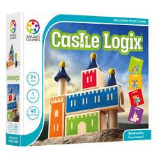 Castle Logix Logic Puzzle - Castle Logics Children's Wooden Castle Brainteaser