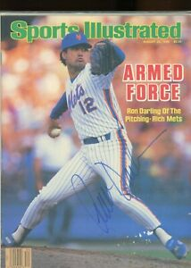 RON DARLING NEW YORK METS SPORTS ILLUSTRATED signed autographed