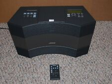 Bose Acoustic Wave Music System II - AM/FM/CD Player - Graphite w/ Remote