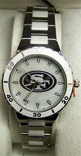 San Francisco 49ers Pearl Watch Womens Game Time MOP Ladies Wristwatch