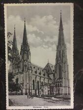 1938 Czechoslovakia Sudetenland Crisis Censored Postcard Cover
