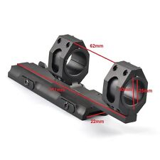 Scope Ring Mount 25mm-30mm Dual Ring Quick Detach Cantilever 20mm Rail Auto Lock