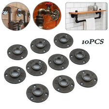 10x 3/4 inch Malleable Cast iron Pipe Fittings Floor Flange BSP Threaded Hole