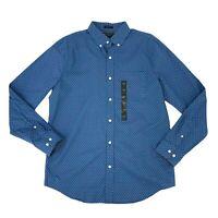 Banana Republic Slim Fit Shirt Size L Stretch Soft-Wash Long Sleeve Button Down