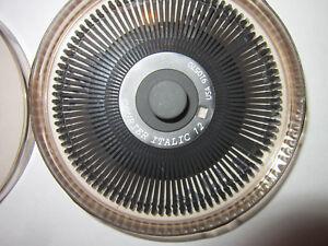 Canon Daisy Wheel PRINTWHEEL COURIER ITALIC 12 font *SHIPS FREE*