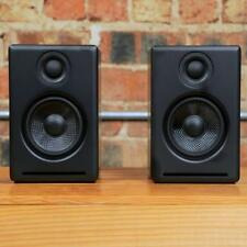 Audioengine A2+ Powered Desktop Speakers w/USB DAC/sub-out/Black wood-cabinets