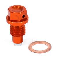 M12*1.5*20 CNC Billet Aluminum Magnetic Oil Drain Plug Bolt For KTM Dirt Bike