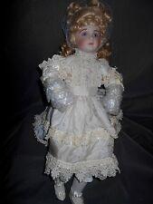 "Josie Mull Reproduction Antique Doll Bru Jumeau, ""Amanda"" 128/600 Pieces"