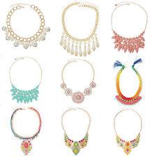 Beauty ausdrucksstarke Modeschmuck-Halsketten & -Anhänger aus Metall-Legierung