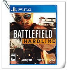 PS4 Battlefield Hardline SONY PLAYSTATION Action Games Electronic Arts EA