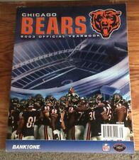 Chicago Bears 2003 Yearbook!