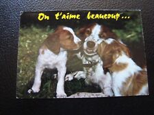 FRANCE - carte postale 1987 (animaux) (B12) french