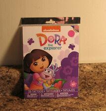 Dora The Explorer Temporary Tattoos 25 Piece Set NEW