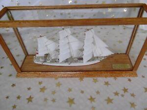 Segelschiffsmodell  Drei-Master Segler Modellschiff Segelschiff
