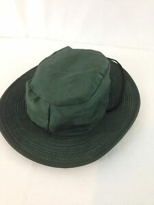 Camel Collection Freedom Medium Green Nylon Wide Brim Fishing Camp Hiker Hat