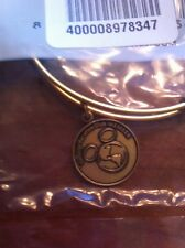 Disney Alex and Ani Vacation Club DVC Member Exclusive GOLD Bangle Bracelet NEW