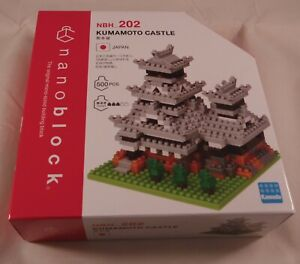 Kawada Nanoblock  KUMAMOTO CASTLE JAPAN building toy NBH_202 Worldwide NEW