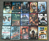 15 Action DVD Bundle Joblot Great Films Doom, Green Street, Hunger Games + More