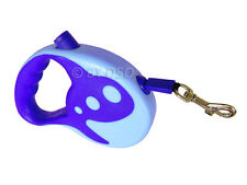 Max and Tilly 3 Metre Retractable Dog Lead in Blue