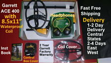1-4 Day Delivery of Garrett Ace 400 Metal Detector & Bonus Items Free Shipping