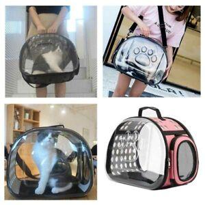Pet Carry Handbag Purse Backpack Dog Cat Cage Travel Tote Foldable Shoulder Bag