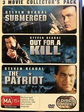Submerged /Out For A Kill/ The Patriot 3- Disc Dvd - R4
