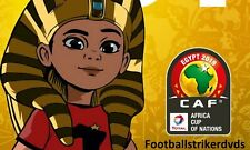 2019 Africa Cup of Nations 3rd Place Tunisia vs Nigeria on Dvd