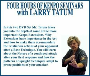 Four Hours of KENPO KARATE Seminars (2) DVD Set for buriedtreasureconsignment