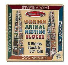 Melissa & Doug Wooden Animal Nesting Blocks 2
