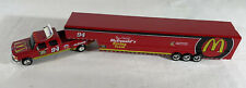 Action Platinum Bill Elliott 1:64 Scale Dually With Show Trailer Mcdonalds Rare