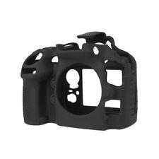 EasyCover Silicone Armor Skin Case Camera Cover Protector for Nikon D810 - Black