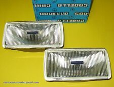FERRARI DE TOMASO LAMBORGHINI MASERATI FOG LIGHTS LAMPS CARELLO VERY RARE