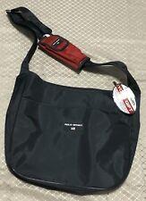 Ralph Lauren Polo Sport Urban Satchel Navy Blue Red Phone Holder New Deadstock