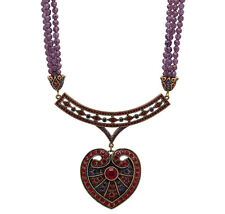 "Striking Heidi Daus ""Queen of Hearts"" Necklace - Valentine's LOVE"