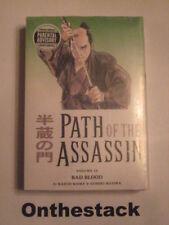 MANGA: Path of the Assassin Vol. 14 by Kazuo Koike & Goseki Kojima. Sealed!
