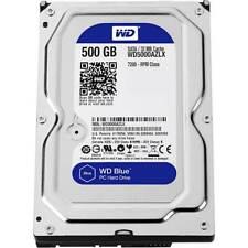 WD - Blue 500GB Internal SATA Hard Drive for Desktops