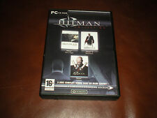 COFFRET 3 JEUX PC HITMAN - TUEUR A GAGES + 2 SILENT ASSASSIN + CONTRACTS