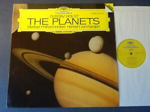 NM HOLST - THE PLANETS LP, Berlin P/O, Karajan, DG 2532 019