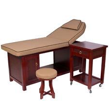 Massageliege Behandlungsliege Therapieliege Kosmetikliege Wellnessliege Holz