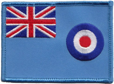 Royal Air Force RAF Ensign Flag Embroidered Patch
