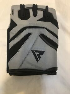 RDX Men Weight Lifting/ Workout/ Fitness Gym Gloves WGL S12g
