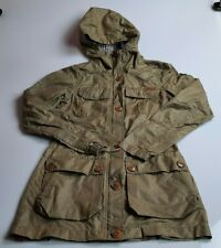 Womens XS Bench Waterproof Trench Coat Parka Jacket With Hood