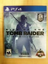 PLAYSTATION 4 PS4 RISE OF THE TOMB RAIDER 20 YEAR CROFT W/ ARTBOOK CASE NO CODES