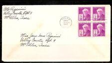 US SC # 945 Thomas A, Edison  FDC  . BLK4 .No Cachet