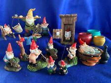 Miniature Gnome World - Garden Gnome Miniatures - Garden Gnome Fairy Garden