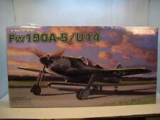 WWII GERMAN FW190A5 U14 DRAGON 1:48 SCALE PLASTIC MODEL AIRPLANE KIT