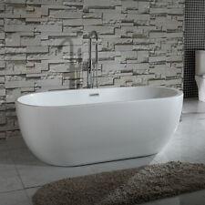 HOME DELUXE Exclusive freistehende Badewanne Acrylwanne Wanne Bad 170x80 Ablauf