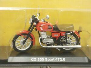 1:24 CZ-350/472 Cezet ČZ 350 Sport 472.6, 1986-1993, #08Our Motorcycles, Modimio