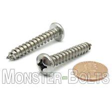 14 X 1 12 Stainless Steel Phillips Pan Head Self Tapping Sheet Metal Screws
