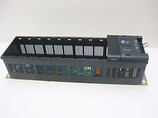 GENERAL ELECTRIC 610CHS130 10 Slot Power Supply 24VDC & (1) IC610MDL100A FILLER
